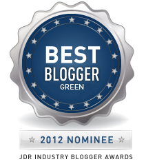 Best Green Blogger Nominee