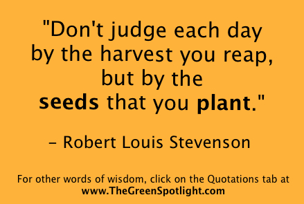 Great Quotations Simple Rl Stevenson Quotation Graphic  The Green Spotlight